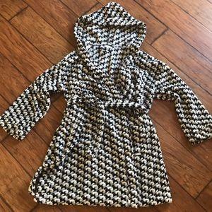 Vera Bradley Scottie Dog Fleecy Bathrobe Housecoat